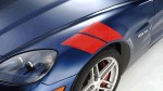 ACCENT STRIPES  FRONT FENDER LEFT SIDE PAIR RED 2005-2013