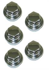 Lugnut Cover Chrome (5 piece set) 2000-2004