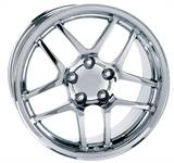 WHEEL CHROME C5 Z06 17 X 9.5