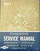 CHASSIS SERVICE MANUAL 1967